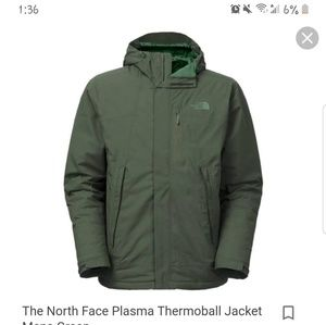 Evergreen North Face jacket